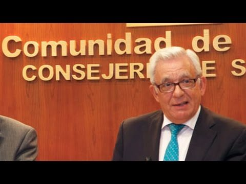 Jesús Sánchez Martos, consejero de Sanidad de la Comunidad de Madrid