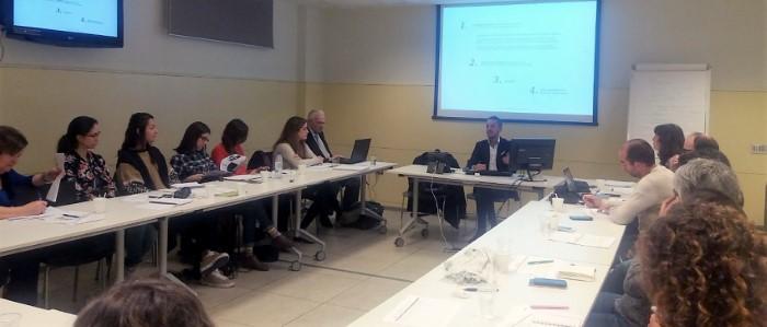 Imagen de la reunión celebrada el 7 de noviembre
