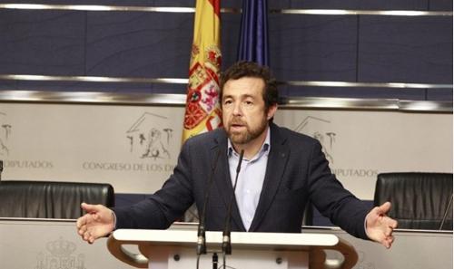 Miguel Ángel Gutiérrez, portavoz sustituto del Grupo Parlamentario de Ciudadanos