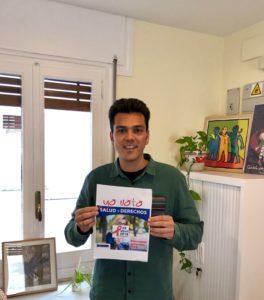 Alberto apoyando la campaña Salud y Derechos