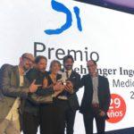 REcibimos el premio boehringer ingelheim en 2016